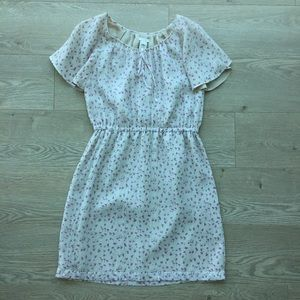 J. Crew Silk Cap Sleeve Flower Print Dress | Sz 6